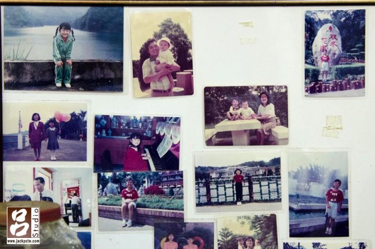 新娘小時候的照片,個人還滿喜歡這張記錄新娘的從小到大的故事