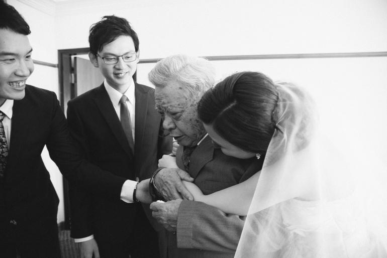 父親不捨新娘子, 新娘子趕緊報的父親