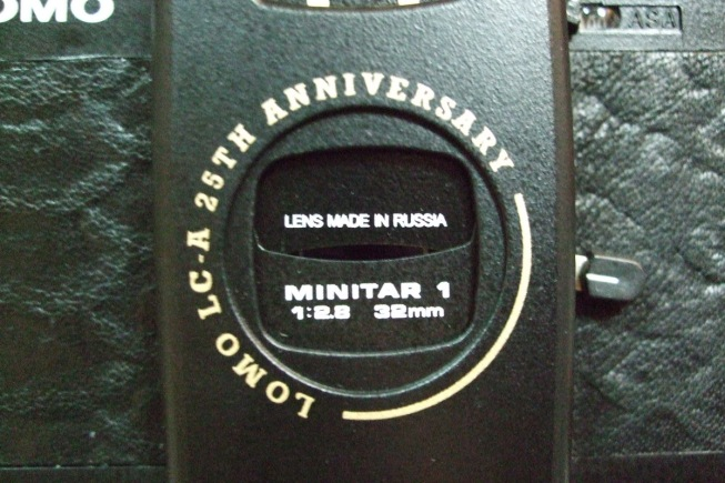 Lens made in Russia