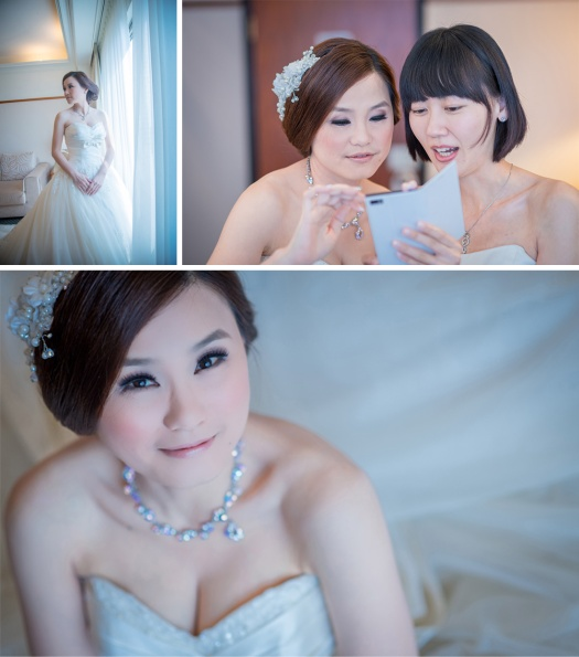 純白的新娘