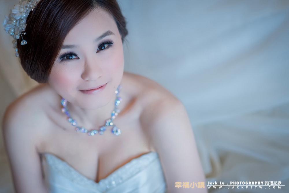 新娘純白獨照