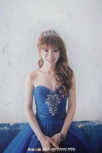 小皇冠真像是小公主的新娘