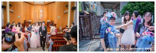 殿樂:準新郎準新娘退場,左:新娘的朋友開始玩起來