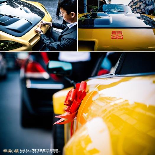 跑車婚禮 大黃蜂Honda s2000