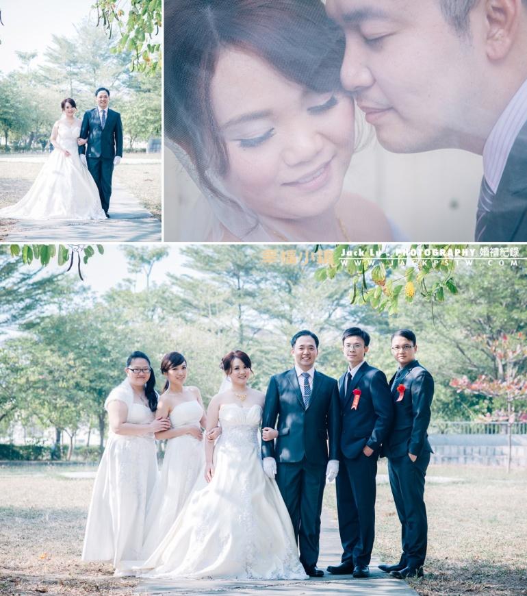 帥氣的新郎和美麗的新娘,說真的如果有時間建議出去外拍下,