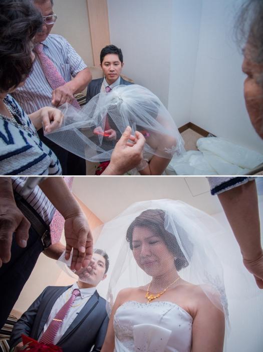 新娘子蓋頭紗