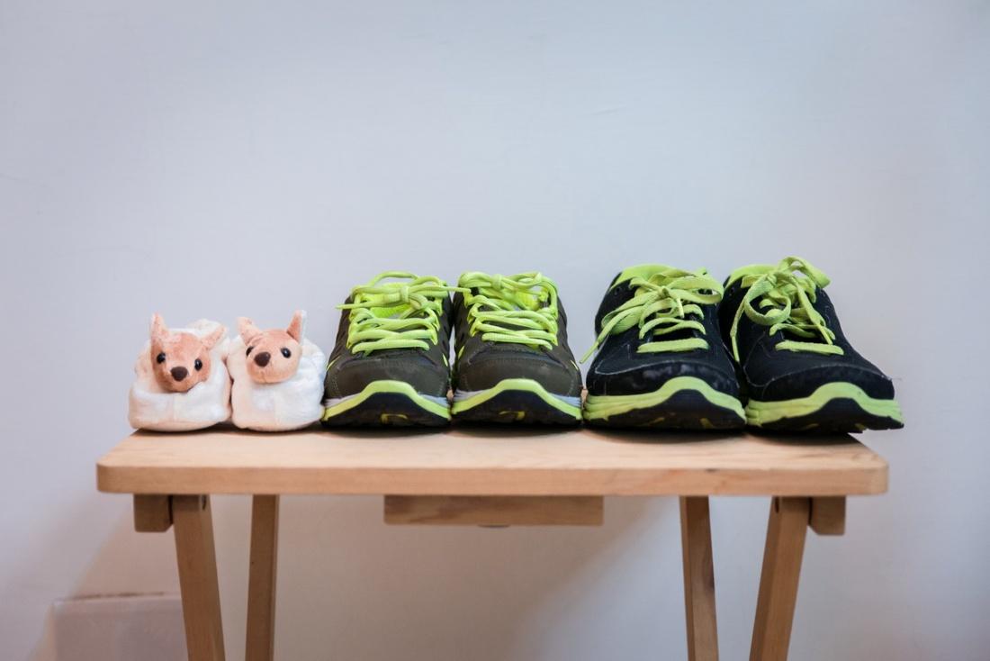 聽說Chloe和她先生都喜歡跑步,希望當小孩長大的時可3人一起跑步