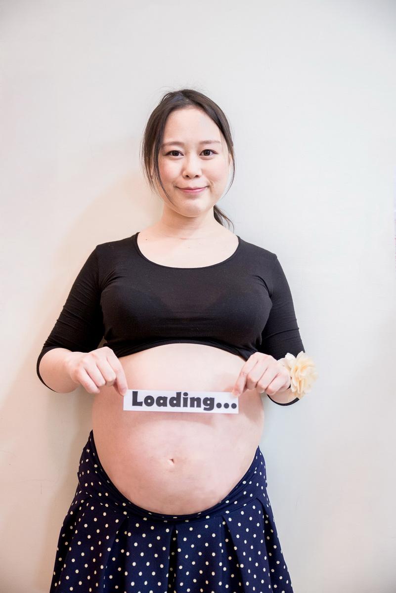 胎兒還在loading的畫面