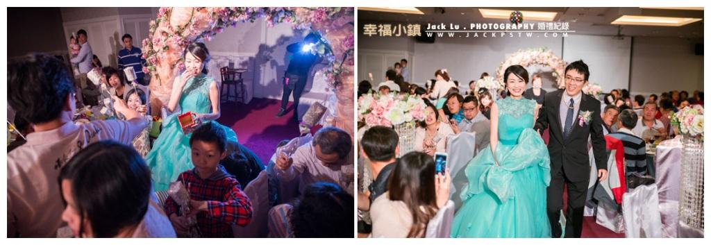 新娘子被熱情的賓客嚇到