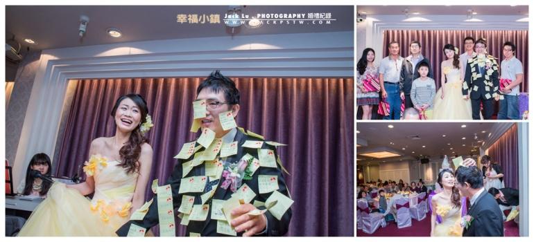 哪位賓客真狠,貼在新郎眼鏡上, 新娘笑的很開心