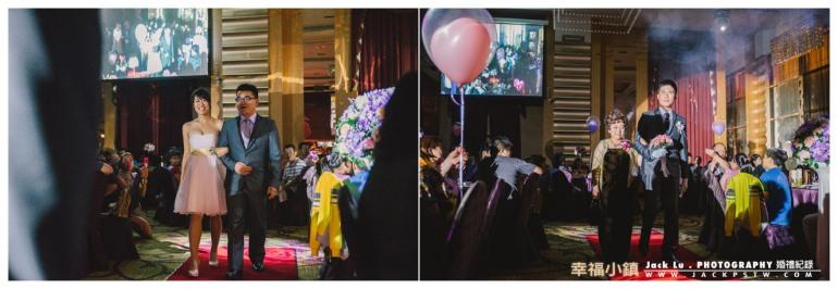 高雄-婚禮紀錄攝影師-婚宴喜宴-大八飯店-伴娘和主婚人進入婚宴會場