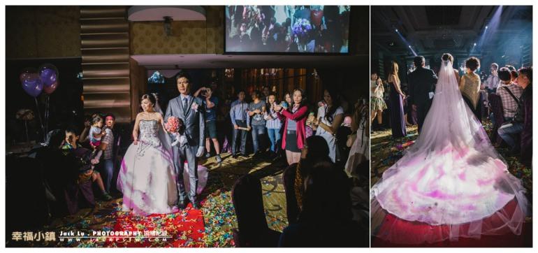 高雄-婚禮紀錄攝影師-婚宴喜宴-大八飯店-新娘子的白紗攤開超漂亮的