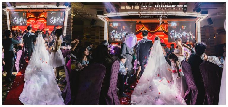 高雄-婚禮紀錄攝影師-婚宴喜宴-大八飯店-張簡婷婷-新娘在眾人祝福下踏上幸福的紅毯
