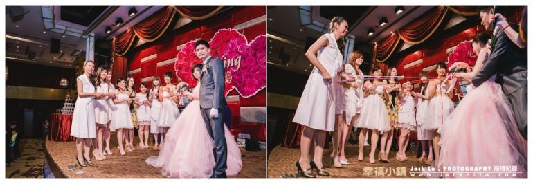 高雄-婚禮紀錄攝影師-婚宴喜宴-大八飯店-進入伴娘搶捧花的活動