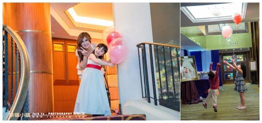 高雄-婚禮紀錄攝影師-婚宴喜宴-大八飯店-張簡婷婷-18活潑小朋友在婚宴玩耍