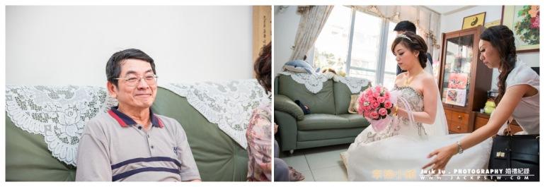 高雄-婚禮紀錄攝影師-迎娶-喜宴大八飯店-張簡婷婷-20-拜別父母