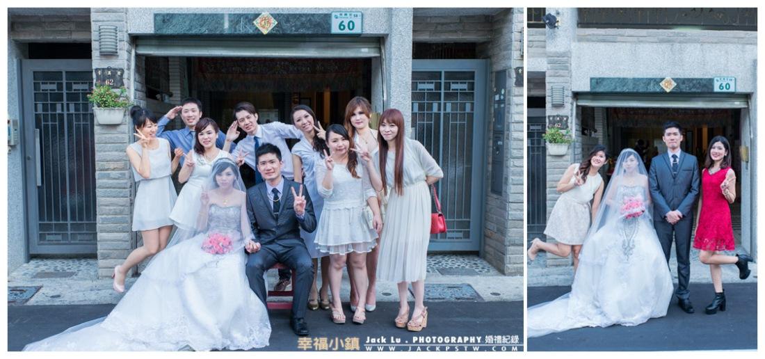 高雄-婚禮紀錄攝影師-迎娶-喜宴大八飯店-張簡婷婷-27-活潑合照