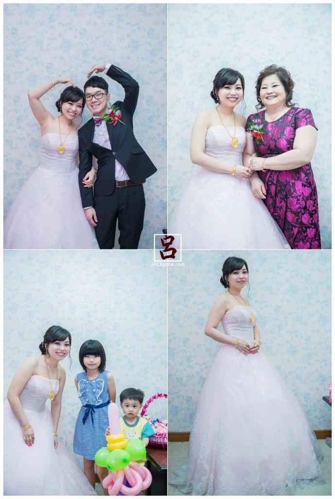 與家人的合照,新娘獨照