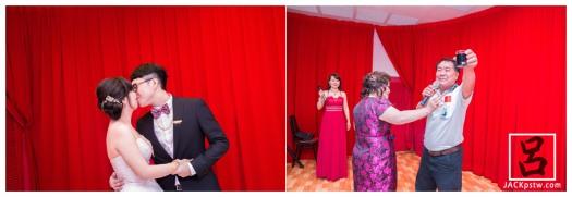 主婚人偷偷賽紅包給賓客