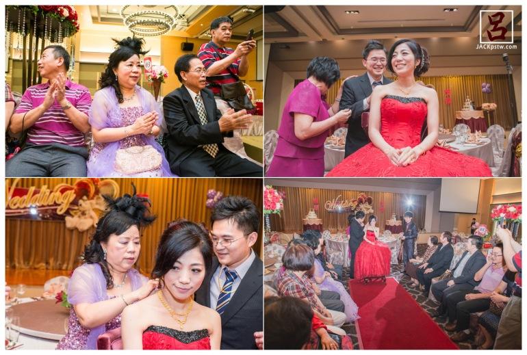 婚禮記錄文定儀式:開心的新娘
