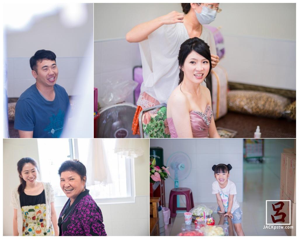 [婚禮攝影] 儒儒+櫻櫻 文定儀式 / 高雄紐約囍宴會館,新祕在幫新娘新郎化妝