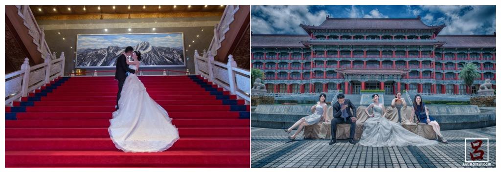高雄圓山飯店拍類婚紗照