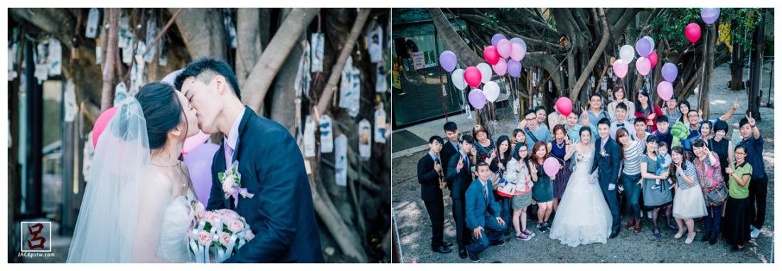 婚禮最重要的是過程,是最親愛家人的凝聚,過了今天,唯一留下的就是珍貴的回憶和能串連成故事的影像