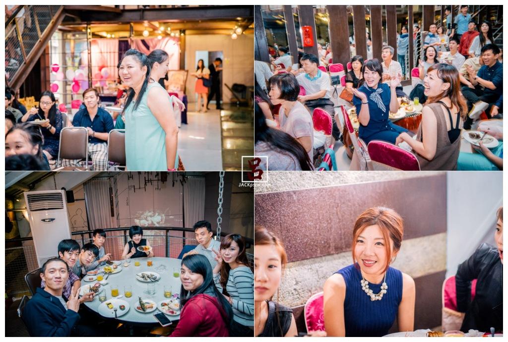 婚攝賢雲之前拍攝的新娘念欣,看到他們笑的超開心,我也拍的很歡樂