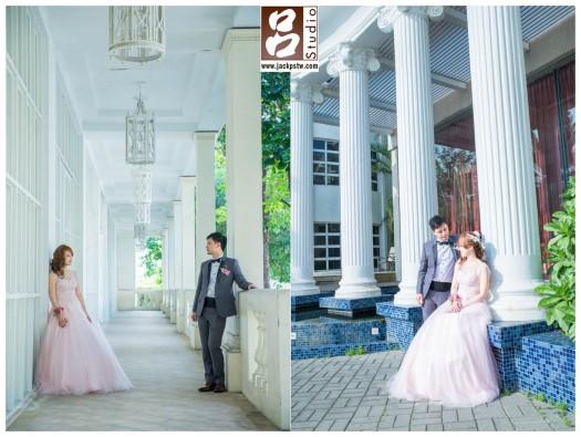 台南商務會館那麼漂亮,當然在多拍一些微婚紗照
