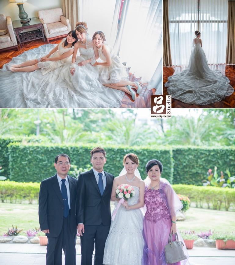 新娘與伴娘合照