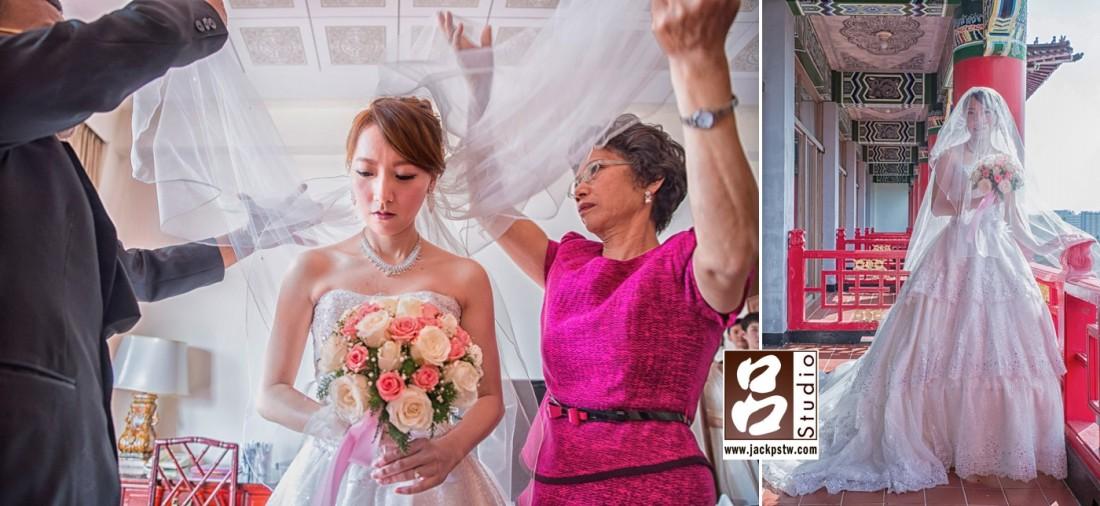 其實新人他們的拜別儀式是歡樂,我會選這張新娘子沒笑的,也許這秒內的心理內是起伏很大的