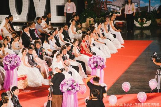 2016-高雄集團婚禮-婚禮攝影-180對的婚禮新人都入坐,開始一些長官和市長致詞