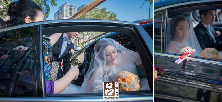 新娘馨儀上禮車