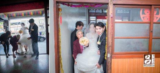 新人進家門,新娘過火