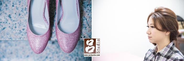 婚鞋+新娘化妝