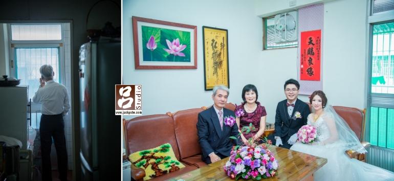 個人還滿喜歡在新郎家的客廳拍一張他們坐的沙發的照片