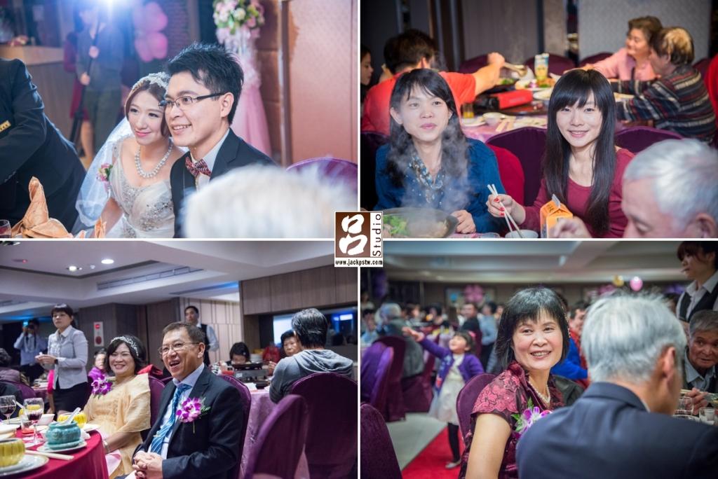 婚禮記錄-結婚囍宴-現場賓客的畫面