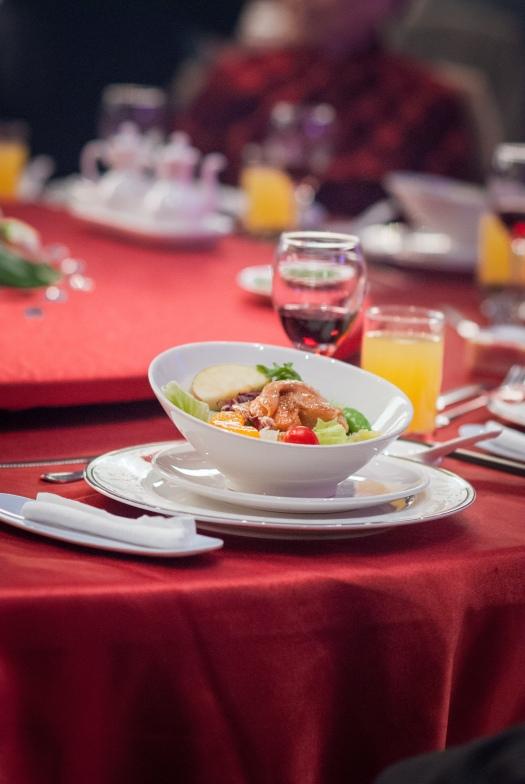 喜宴的菜色拍攝