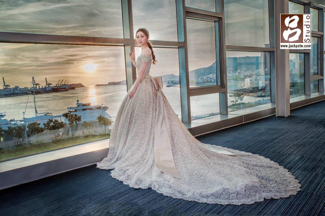 新娘與海景宴