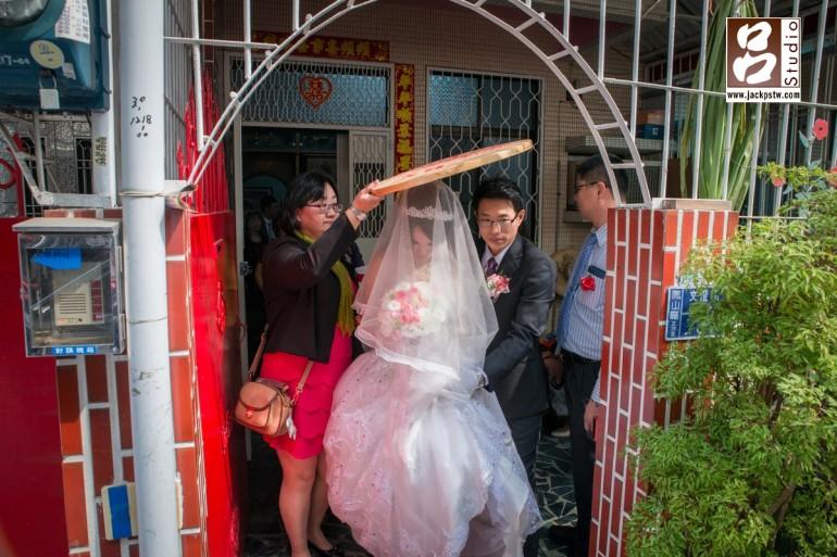 新娘出家門