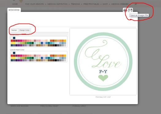 """右邊修改字樣和顏色,右上的是""""儲存圖檔"""""""