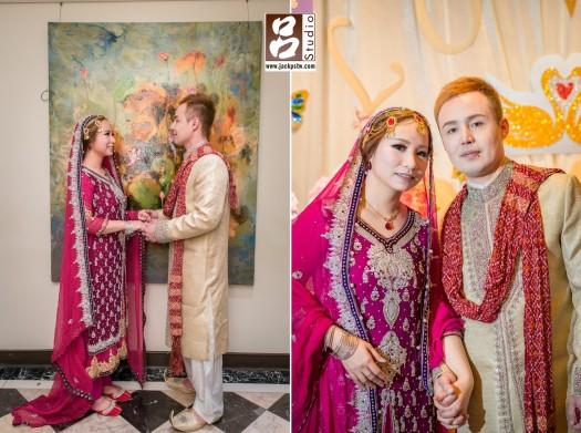 巴勒斯坦的傳統婚禮禮服
