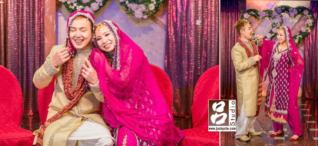Mehdi+Angela婚宴終於結束了,小呂最喜歡這段時間,這時新人的表情都是最自然最真誠