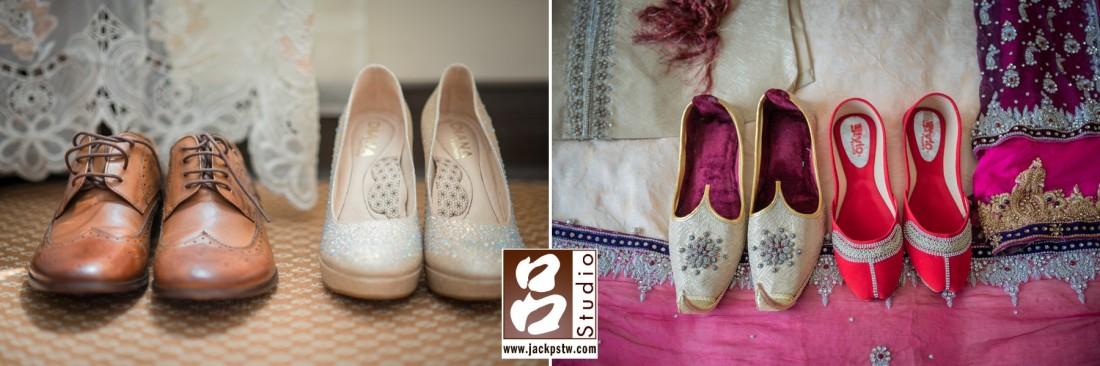 新人的西方婚鞋, 巴勒斯坦的婚鞋
