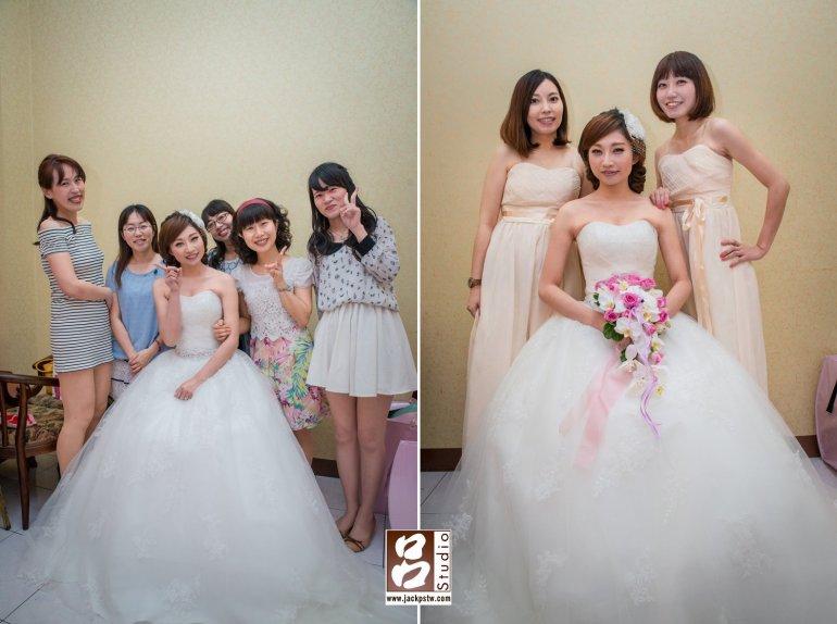 新娘的好姐妹和伴娘