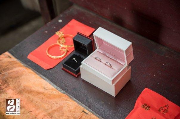 訂婚儀式的戒指