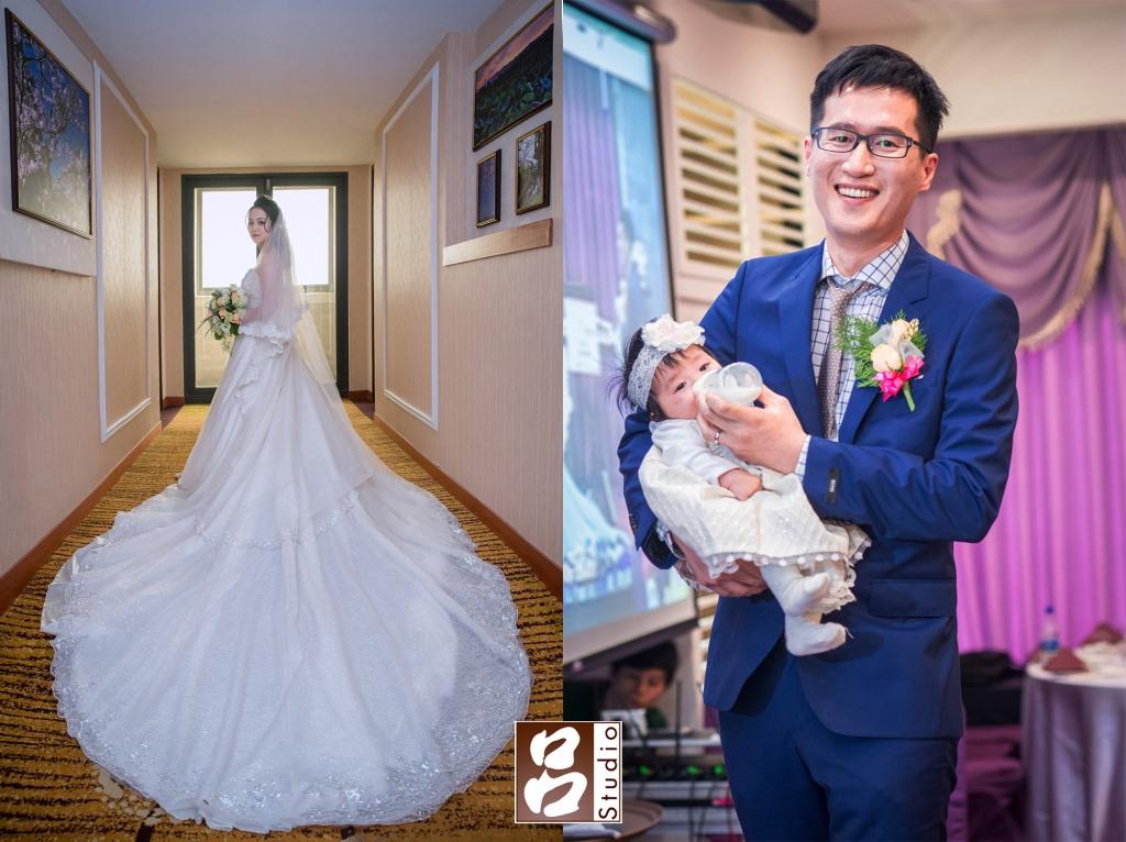 新郎新娘獨照