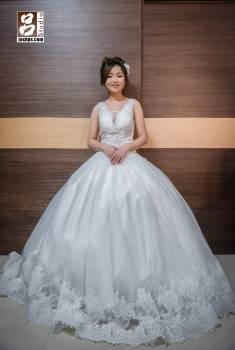 新娘秘書于婷做的造型