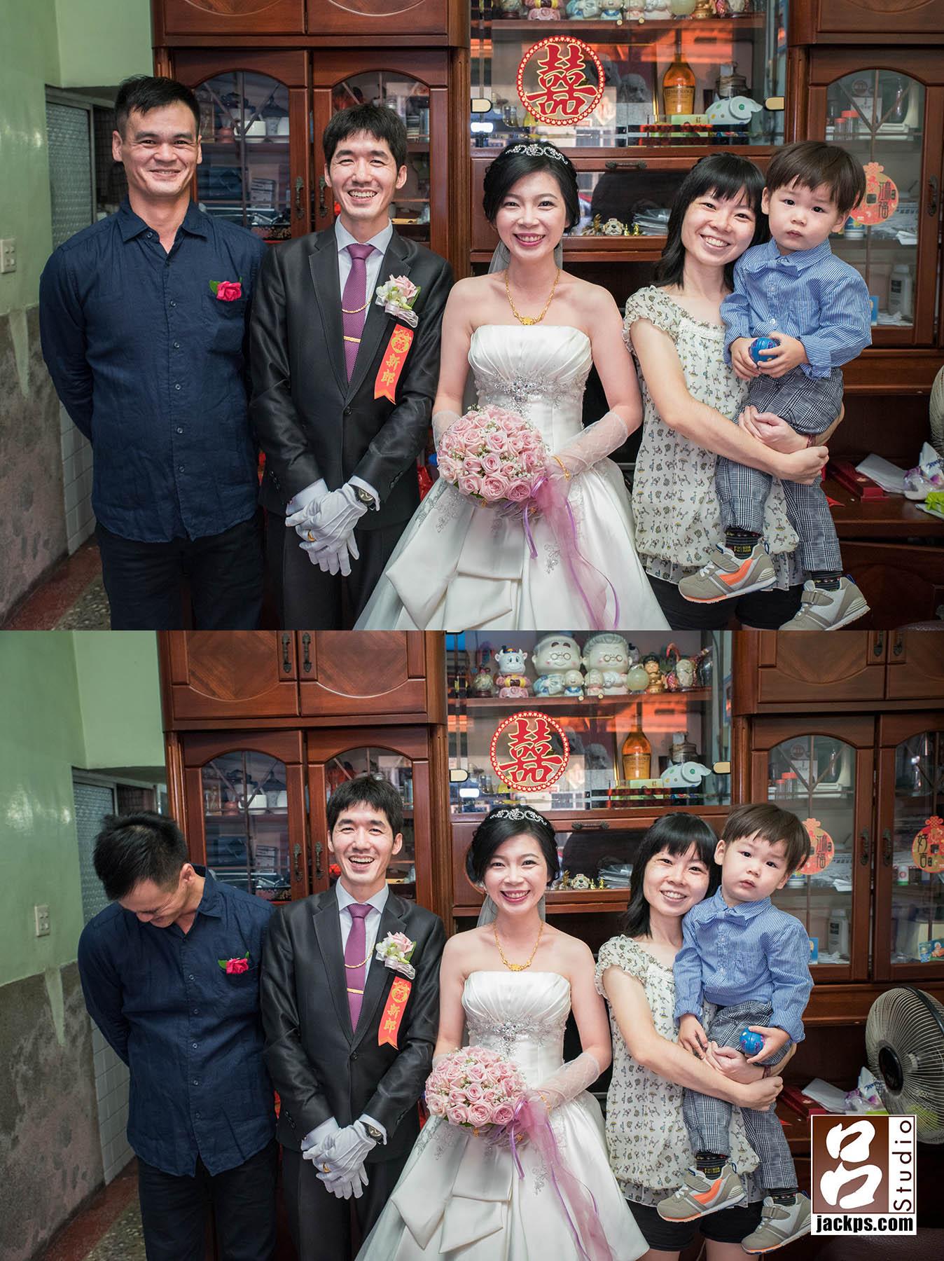 婚禮攝影-苦哈哈的小朋友-照片