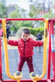 帶他去常去的公園